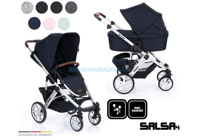 Универсальная коляска 2 в 1 ABC Design Salsa 4, 2019  ����, �������� | Babyshopping