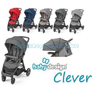 Прогулочная коляска Baby Design Clever 2019 фото, картинки | Babyshopping