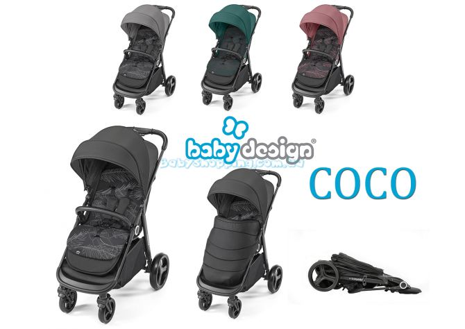 Прогулочная коляска Baby Design Coco ����, ��������   Babyshopping