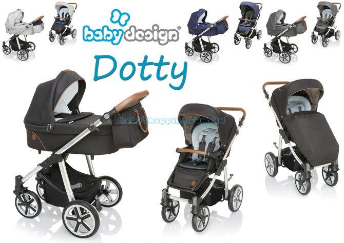 Универсальная коляска 2 в 1 Baby Design Dotty 2019 ����, �������� | Babyshopping