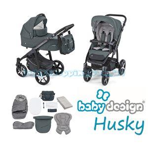 Универсальная коляска 2 в 1 Baby Design Husky 2019 фото, картинки | Babyshopping