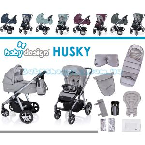 Универсальная коляска 2 в 1 Baby Design Husky 2020 фото, картинки | Babyshopping