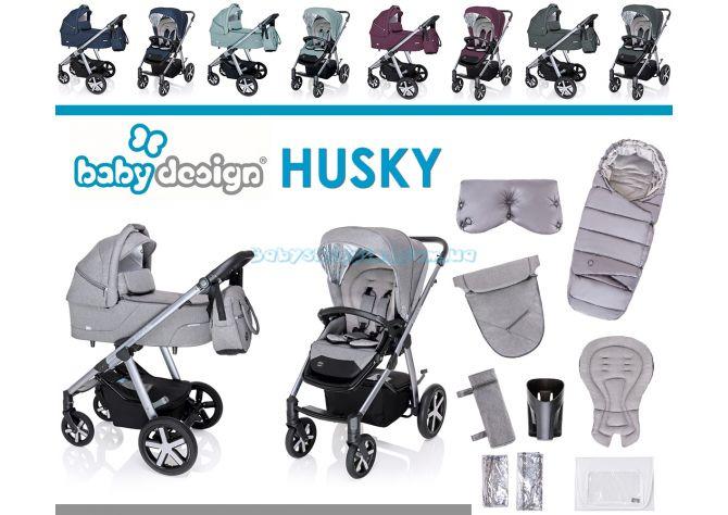 Универсальная коляска 2 в 1 Baby Design Husky 2020 ����, ��������   Babyshopping