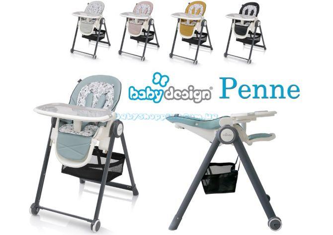 Детский стульчик для кормления Baby Design Penne  ����, �������� | Babyshopping