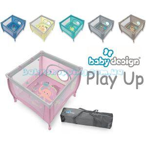 Детский манеж Baby Design Play Up, 2019 фото, картинки | Babyshopping