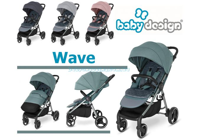 Прогулочная коляска Baby Design Wave ����, �������� | Babyshopping