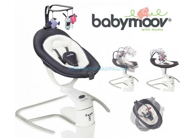 Шезлонг-качалка Babymoov Swoon Motion ����, �������� | Babyshopping