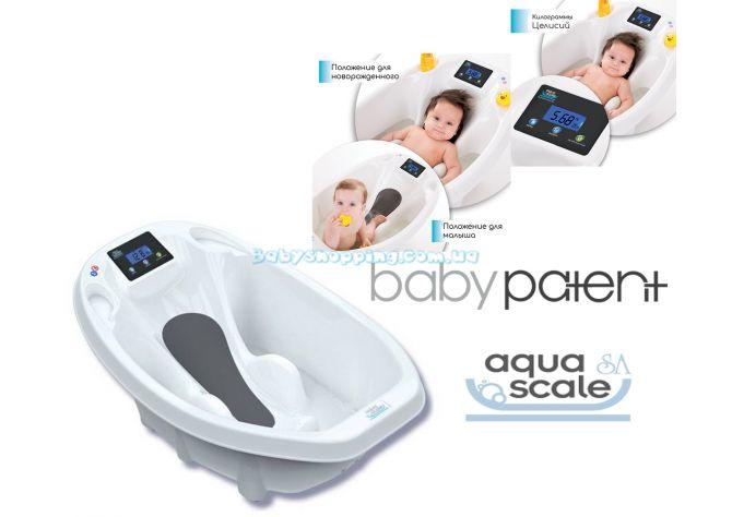 Детская ванночка 3 в 1 Baby Patent Aqua Scale с термометром ����, �������� | Babyshopping
