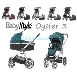 Универсальная коляска 2 в 1 Baby Style Oyster 3 фото, картинки | Babyshopping