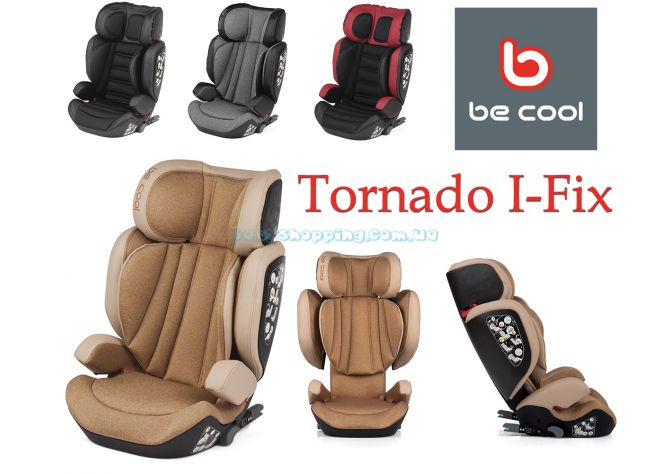 Автокресло Be Cool Tornado I-Fix  ����, �������� | Babyshopping