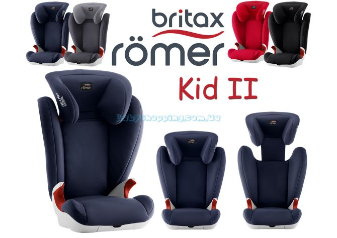 Автокресло Britax Romer Kid II  ����, �������� | Babyshopping