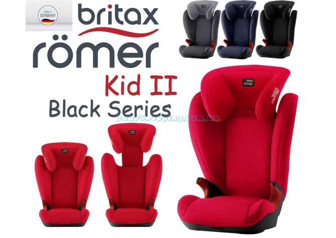 Автокресло Britax Romer Kid II Black Series ����, �������� | Babyshopping