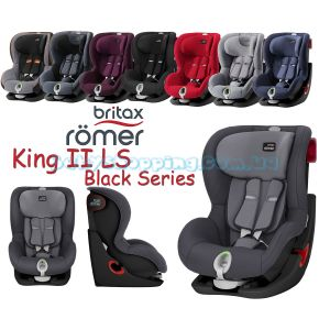 Автокресло Britax Romer King II LS Black Series фото, картинки | Babyshopping