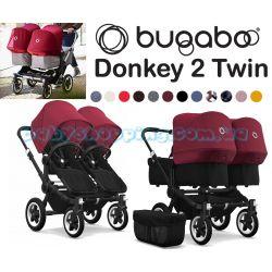 Детская коляска для двойни 2 в 1 Bugaboo Donkey 2 Twin фото, картинки | Babyshopping