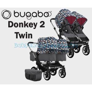 Детская коляска 2 в 1 Bugaboo Donkey 2 Twin фото, картинки | Babyshopping