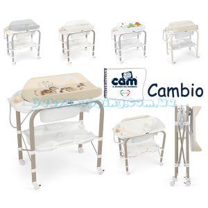 Пеленальный столик Cam Cambio с ванночкой фото, картинки | Babyshopping