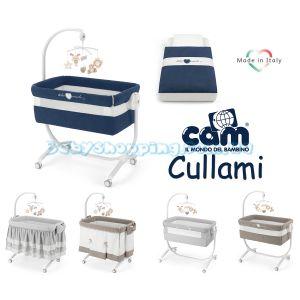 Приставная кроватка-колыбель Cam Cullami, 2019 с постелью фото, картинки | Babyshopping