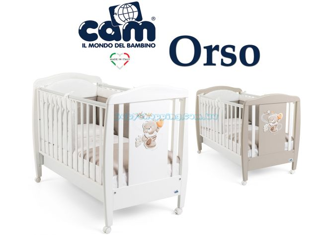 Детская кроватка Cam Orso  ����, �������� | Babyshopping