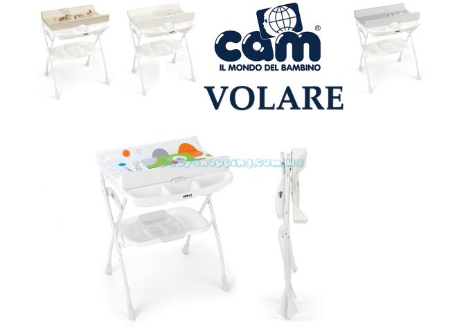 Пеленальный столик Cam Volare с ванночкой ����, �������� | Babyshopping