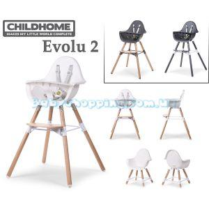 Стульчик для кормления 2в1 Childhome Evolu 2 фото, картинки | Babyshopping