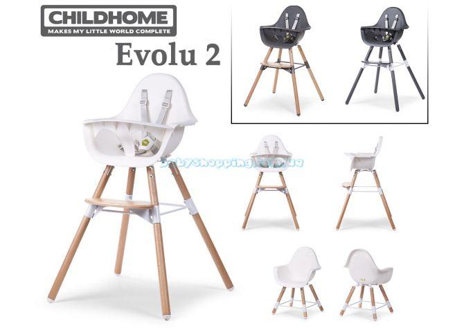 Стульчик для кормления 2в1 Childhome Evolu 2 ����, �������� | Babyshopping