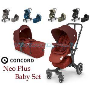Детская коляска 2 в 1 Concord Neo Plus Baby Set 2019 фото, картинки | Babyshopping