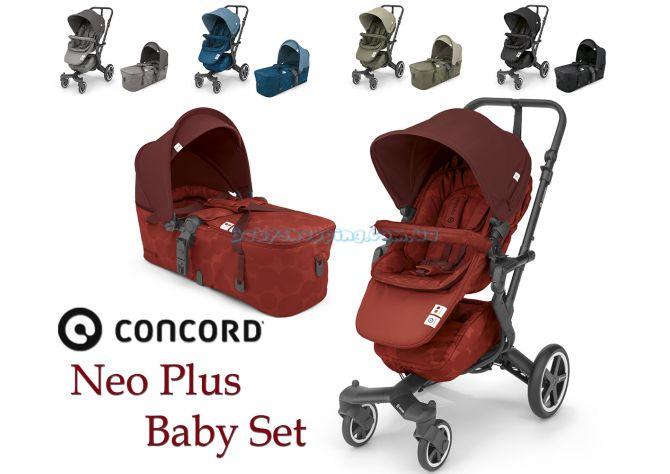Детская коляска 2 в 1 Concord Neo Plus Baby Set 2019 ����, �������� | Babyshopping