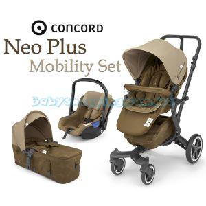 Универсальная коляска 3 в 1  Concord Neo Plus Mobility Set 2019  фото, картинки | Babyshopping