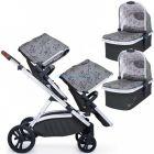 Универсальная коляска для двойни 2 в 1 Cosatto Wow XL Twin ����, �������� | Babyshopping