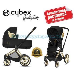 Универсальная коляска 2 в 1 Cybex Priam 2.0 Wings by Jeremy Scott 2019 фото, картинки | Babyshopping