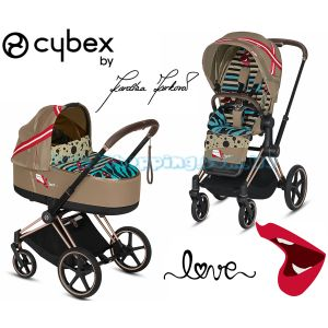 Детская коляска 2 в 1 Cybex Priam Lux by Karolina Kurkova  фото, картинки | Babyshopping