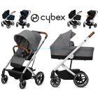 Универсальная коляска 2 в 1 Cybex Balios S Denim Edition ����, �������� | Babyshopping