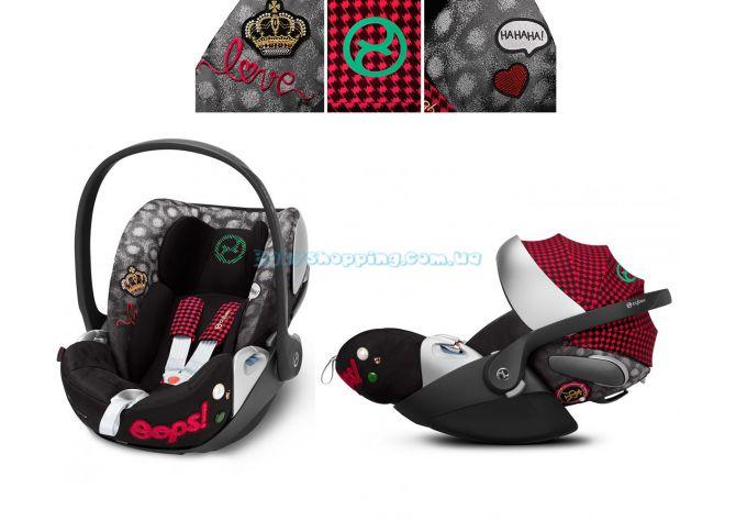 Автокресло Cybex Cloud Z Rebellious Fashion Collection  ����, ��������   Babyshopping