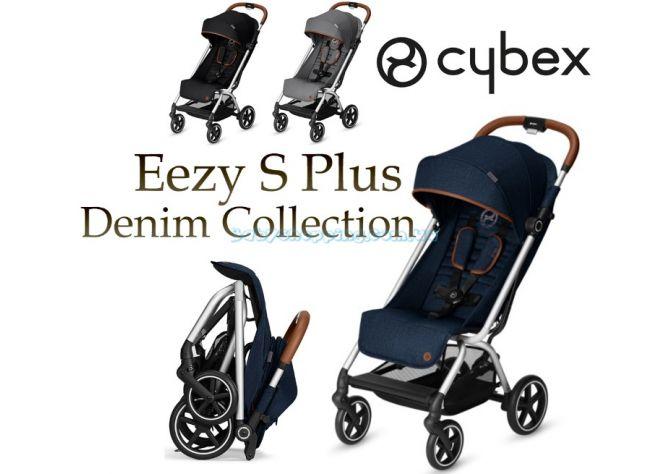 Прогулочная коляска Cybex Eezy S Plus Denim Collection  ����, �������� | Babyshopping