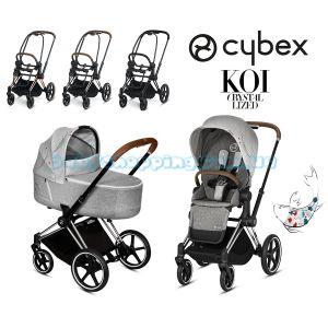 Детская коляска 2 в 1 Cybex Priam Koi Crystallized 2019  фото, картинки | Babyshopping
