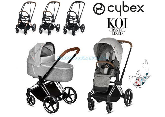 Дитяча коляска 2 в 1 Cybex Priam Koi Crystallized 2020 ����, �������� | Babyshopping