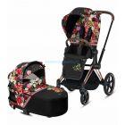 Детская коляска 2 в 1 Cybex Priam Lux Spring Blossom  ����, �������� | Babyshopping