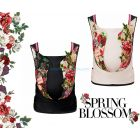Рюкзак-кенгуру Cybex Yema Tie Spring Blossom ����, �������� | Babyshopping