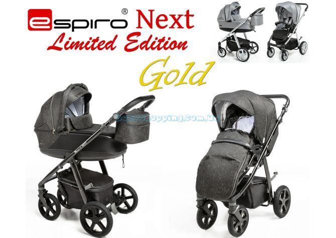 Универсальная коляска 2 в 1 Espiro Next Gold Limited  ����, �������� | Babyshopping