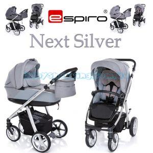 Универсальная коляска 2 в 1 Espiro Next Silver фото, картинки | Babyshopping