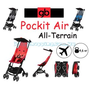 Прогулочная коляска GB Pockit Air All-Terrain 2019  фото, картинки   Babyshopping