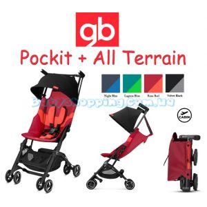 Прогулочная коляска GB Pockit Plus All Terrain 2019 фото, картинки   Babyshopping