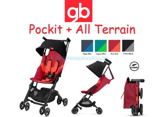 Прогулочная коляска GB Pockit Plus All Terrain 2019 ����, �������� | Babyshopping