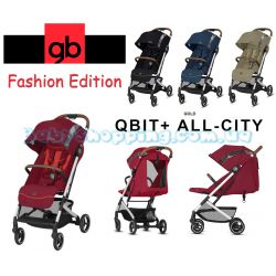 Прогулянкова коляска GB Qbit Plus All-City Fashion Edition 2019 фото, картинки | Babyshopping