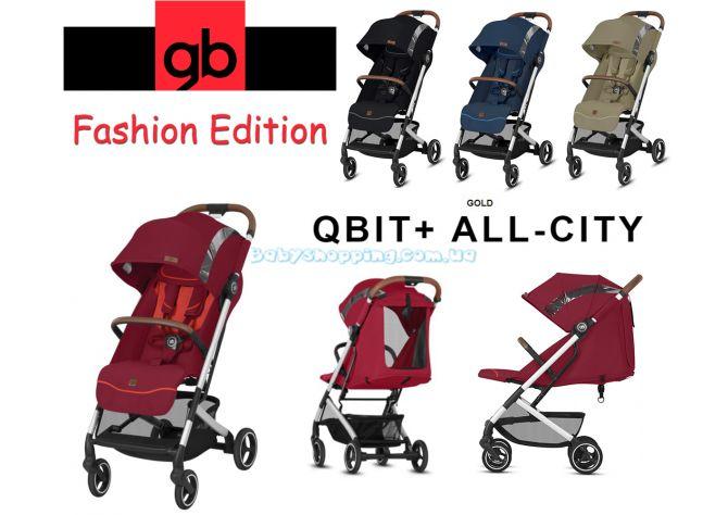 Прогулочная коляска GB Qbit Plus All-City Fashion Edition 2019 ����, �������� | Babyshopping