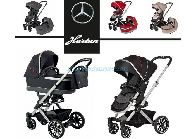 Детская коляска 2 в 1 Hartan Avantgarde Mercedes-Benz Collection  ����, �������� | Babyshopping
