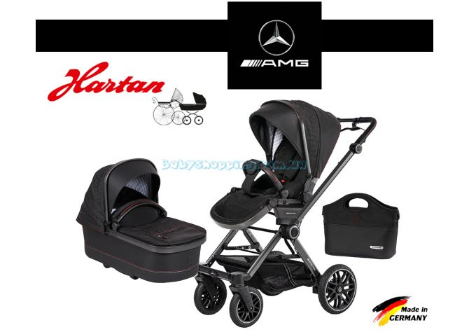 Универсальная коляска 2 в 1 Hartan AMG GT Mercedes-Benz Collection ����, �������� | Babyshopping
