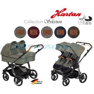 Детская коляска для двойни 2в1 Hartan Two Select фото, картинки | Babyshopping