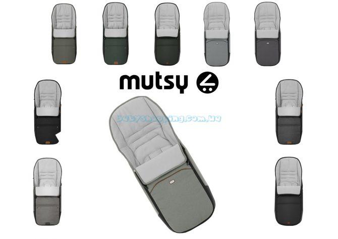 Теплый чехол для ног Mutsy Nio 2019 ����, �������� | Babyshopping