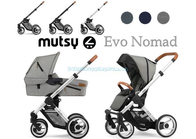 Детская коляска 2 в 1 Mutsy Evo Nomad 2019  фото, картинки | Babyshopping